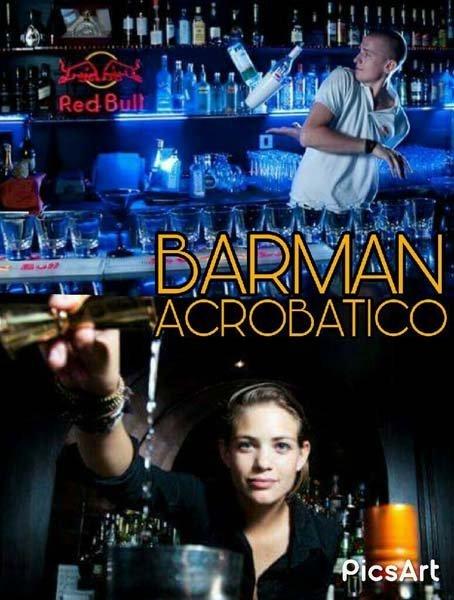 evento barman acrobatico