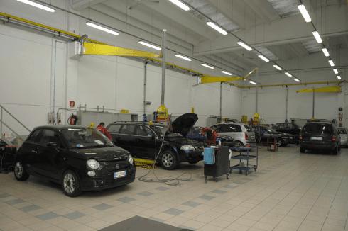 lavaggio interno auto