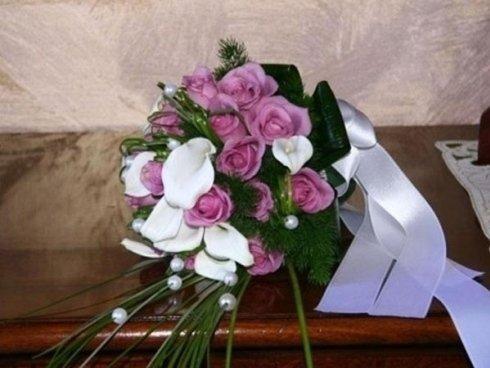 bouquet di fiori multicolori