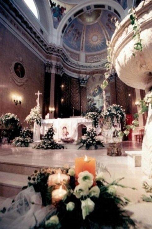 fiori per chiese