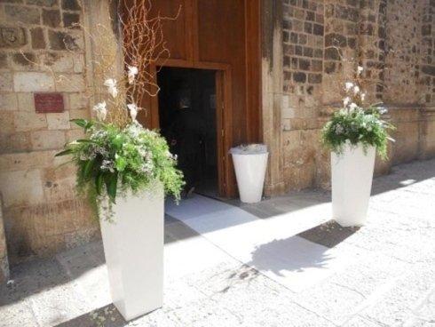 piante ingresso chiesa