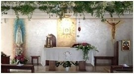 addobbi floreali per altari