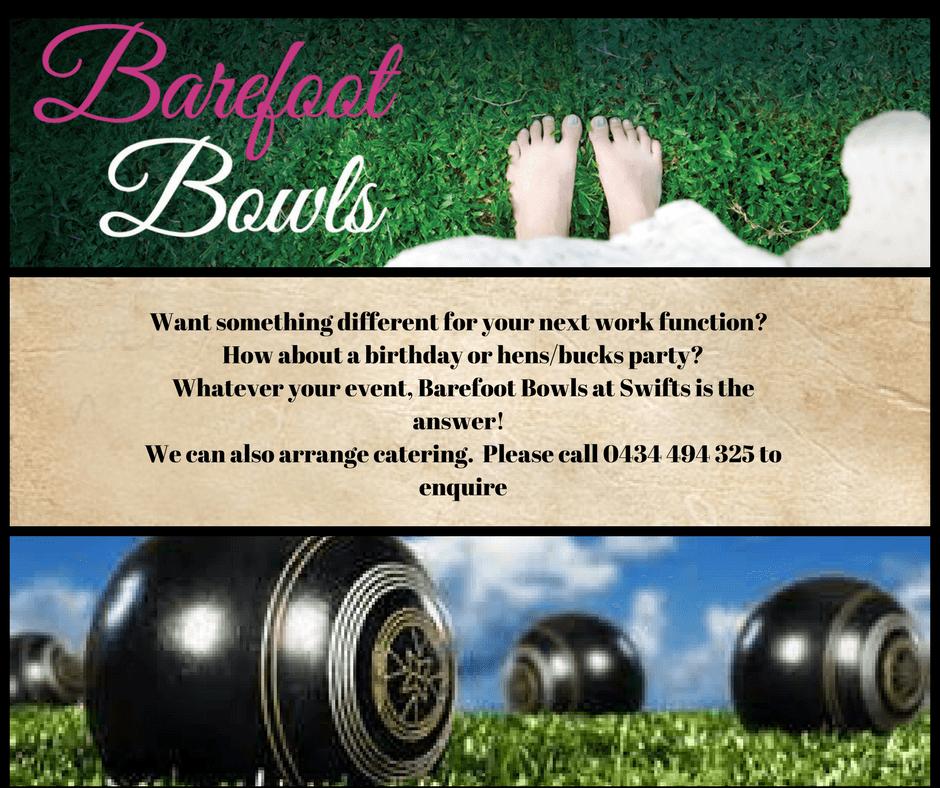 Barefoot Bowls Ipswich