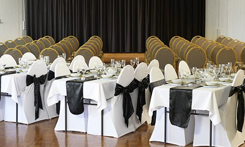 Function area at Swift Sports Club
