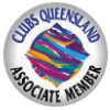 Clubs Queensland Associate Member logo