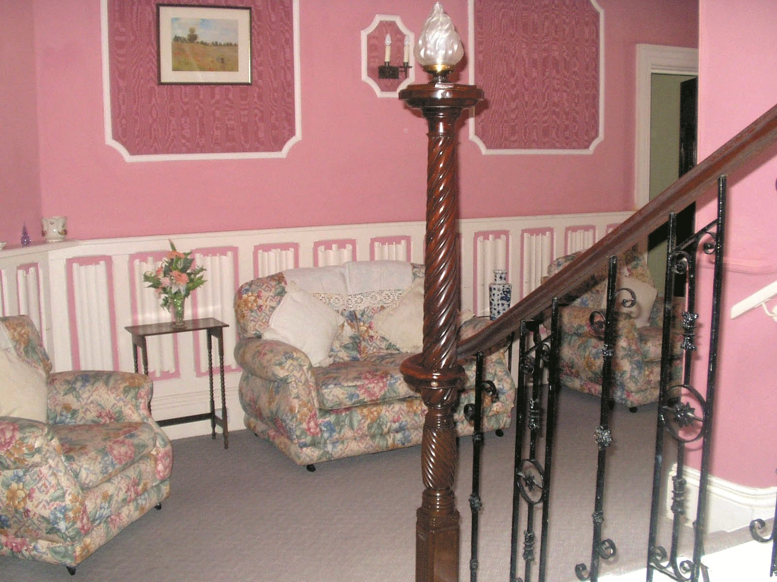 one of our cosy living areas