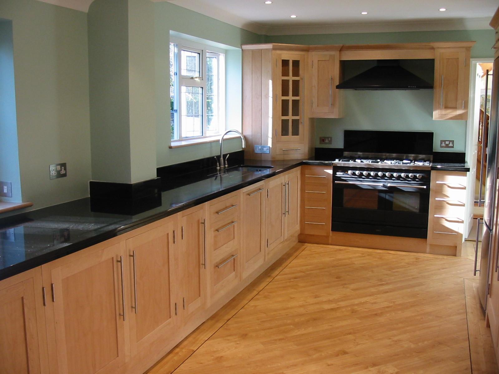 Kitchen woodwork