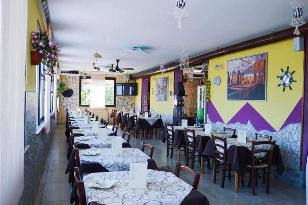 Sala da pranzo da Berto