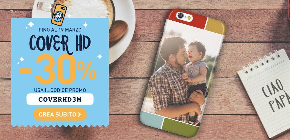 una cover di un telefono personalizzata per un immagine promozionale