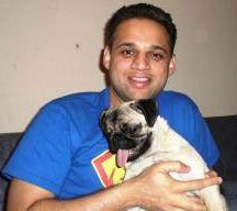 Owner with Pug that won't eat