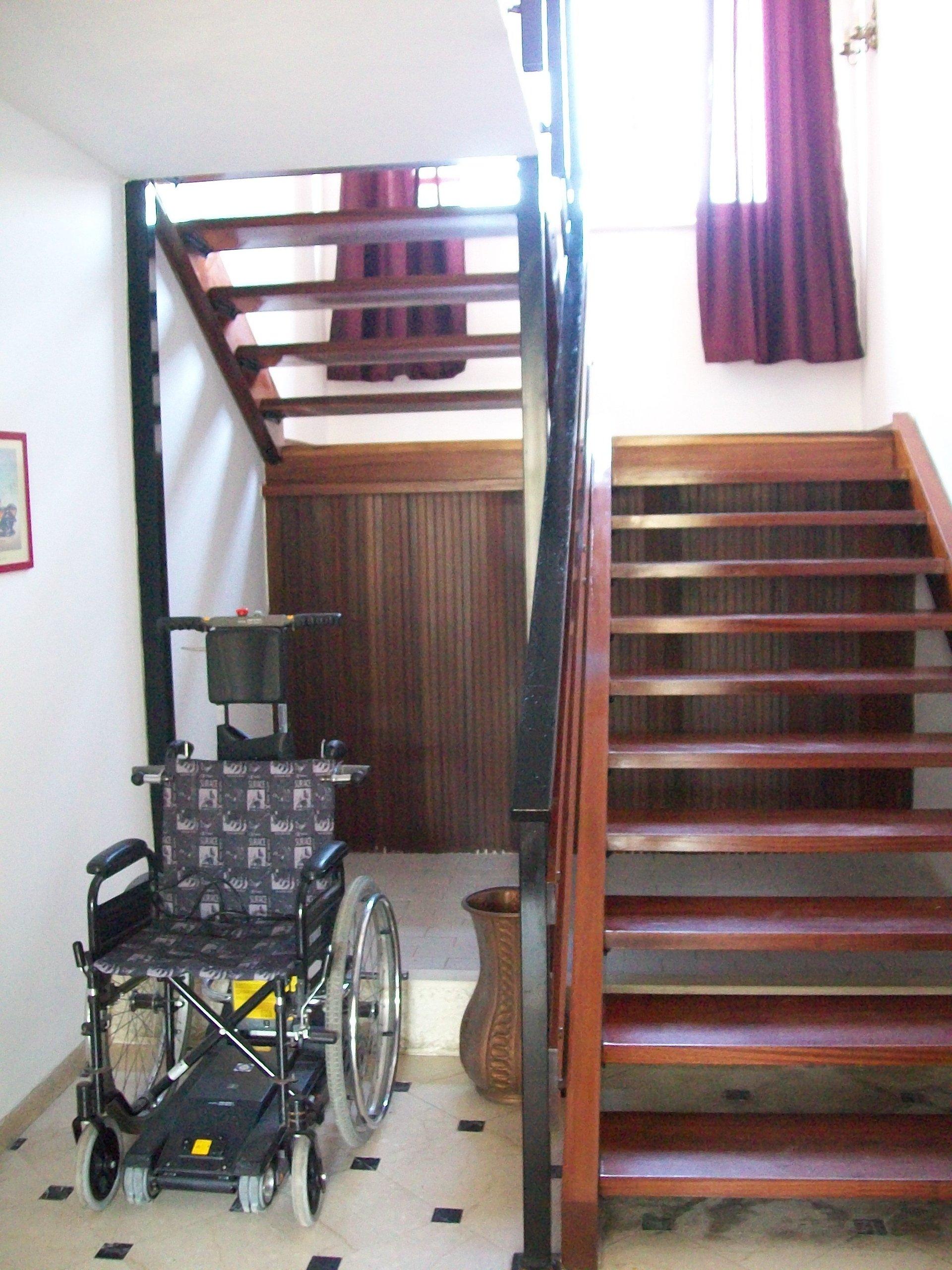 scale interne della residenza