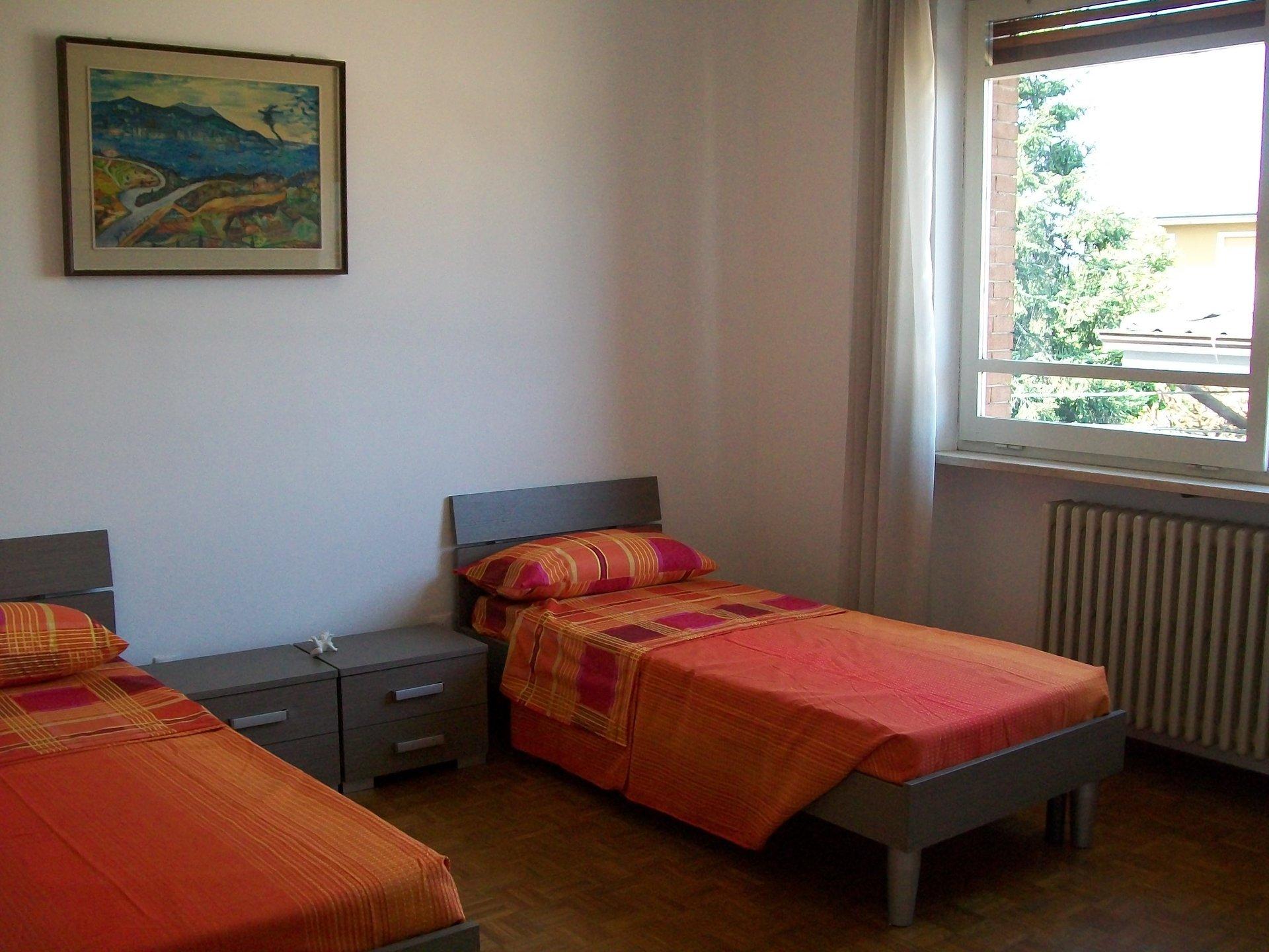 stanza da letto del ricovero per anziani