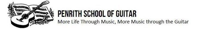 penrith school of guitar business logo