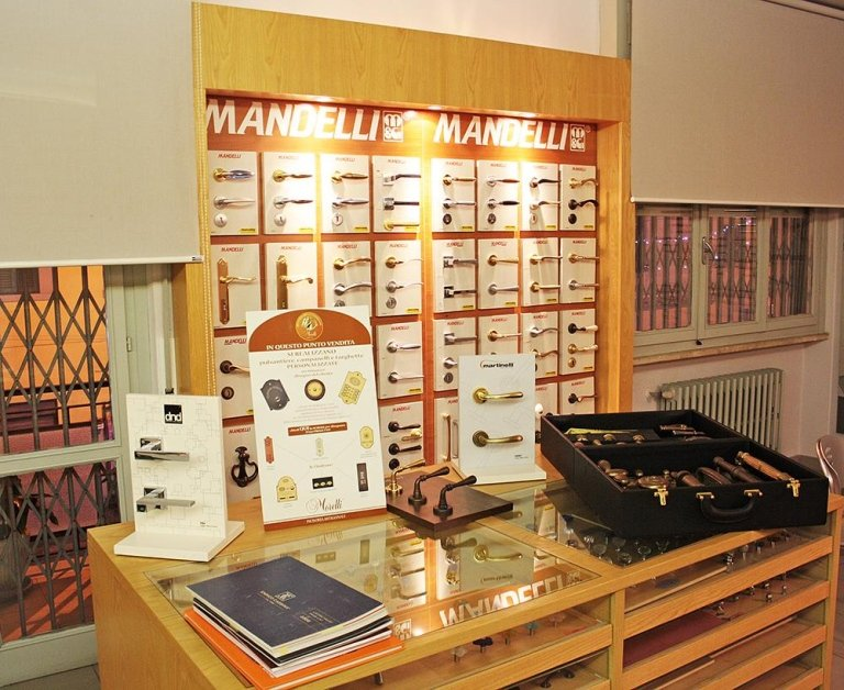 Showroom maniglie