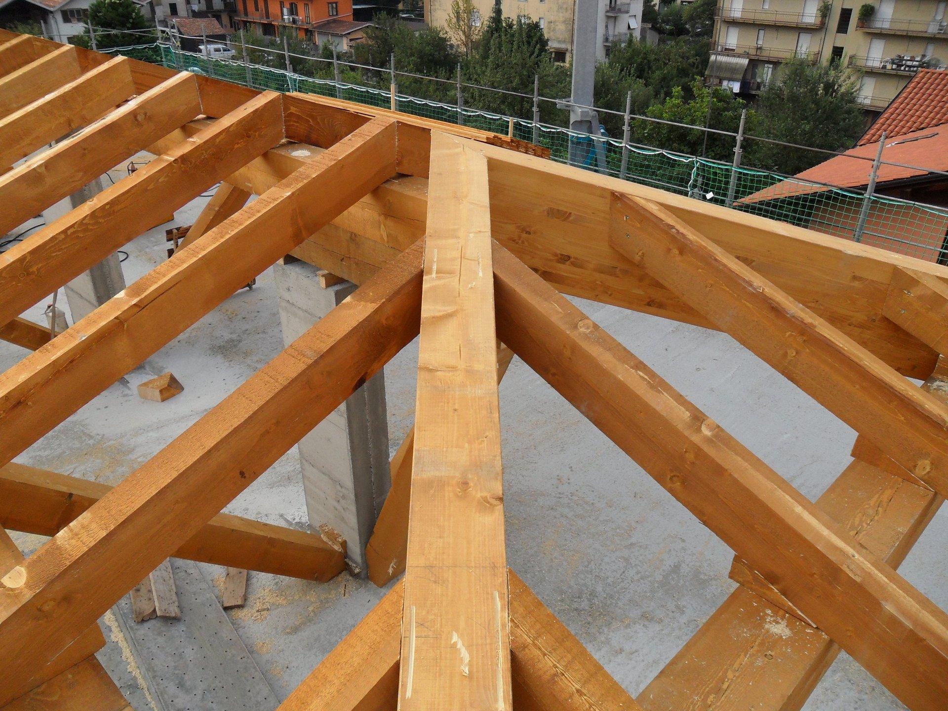 impalcature in legno