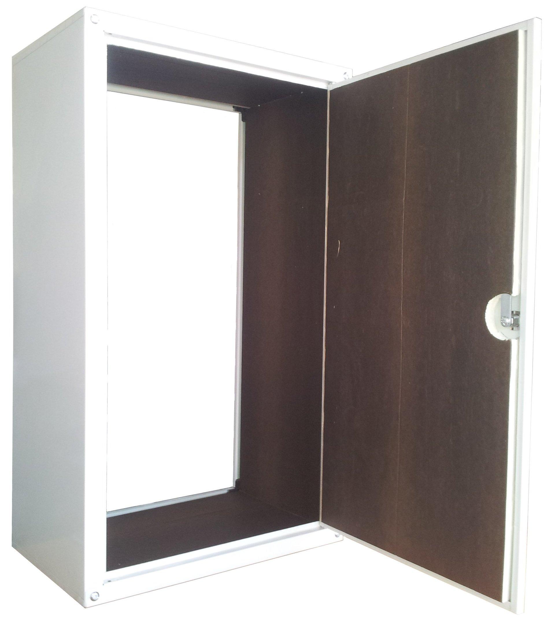 Copricaldaia con interni in legno