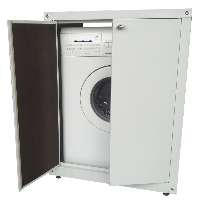 Coprilavatrice con lavatrice incorporata