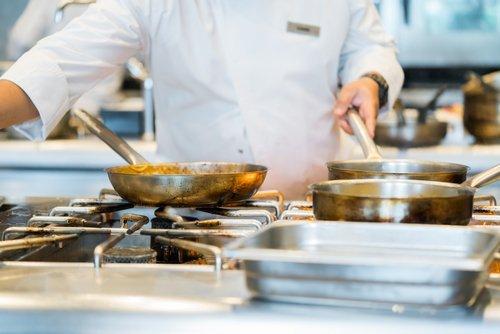 chef che cucina