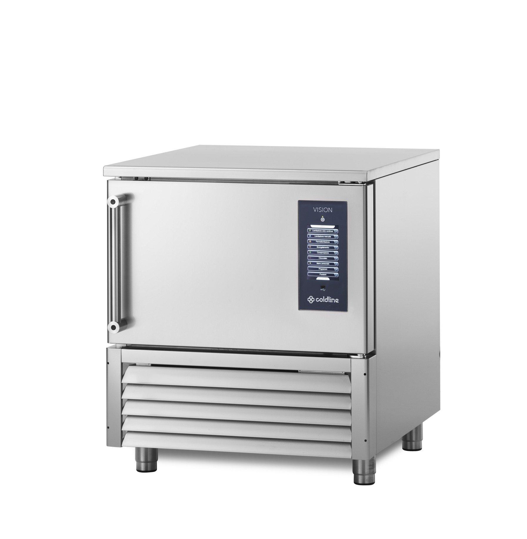 un elettrodomestico in acciaio della marca coldline