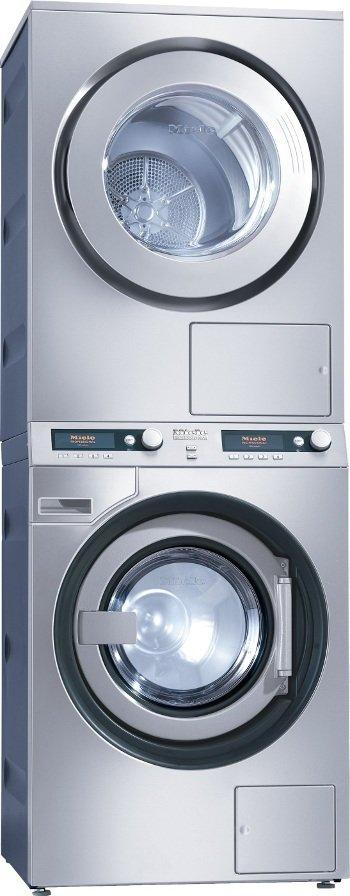 una lavatrice e un'asciugatrice