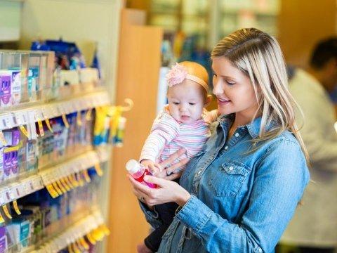 Vendita prodotti per l'infanzia