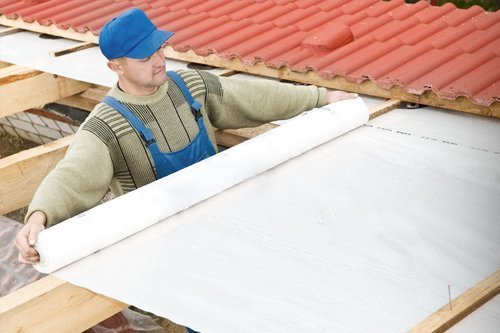 roof laying