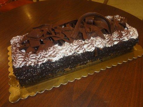 Torta de cioccolata e meringa