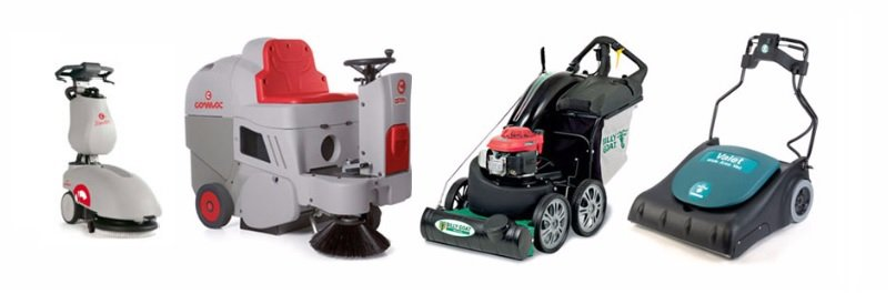 a wide range of floor cleaning equipment