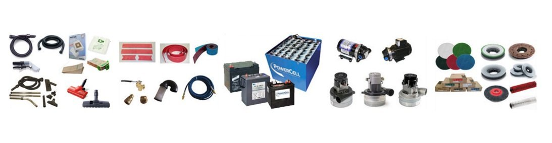 chemicals, accessories and spares