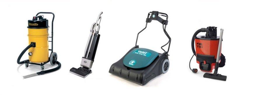 multi-coloured vacuum cleaners