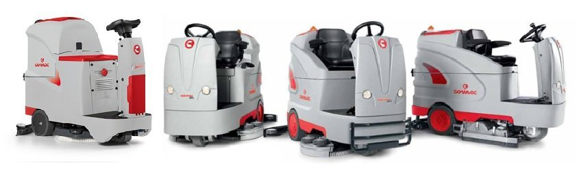 Range of comac cleaners