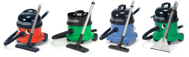 vacuum cleaners with a smiley face