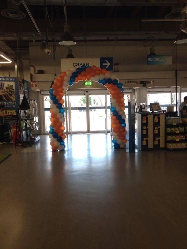Arco di palloncini