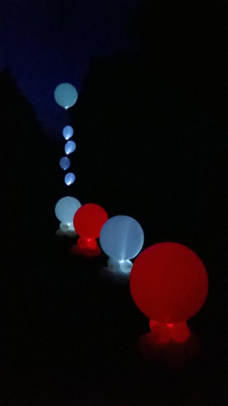 palloncini per matrimonio