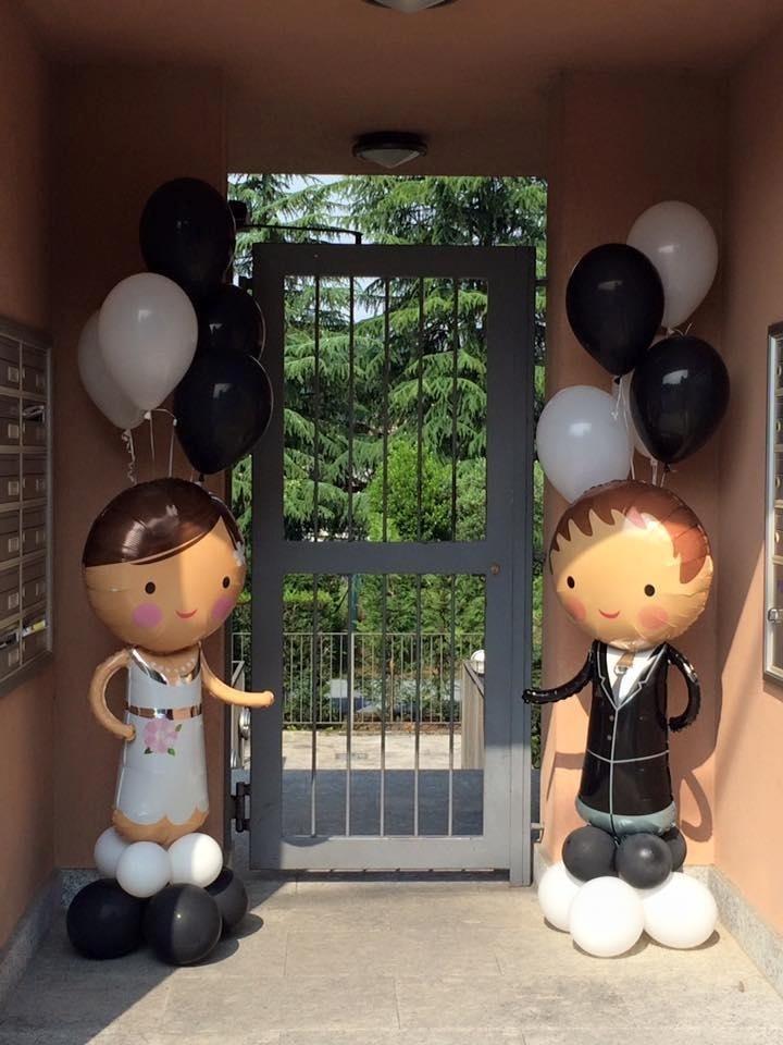 sposi palloncino