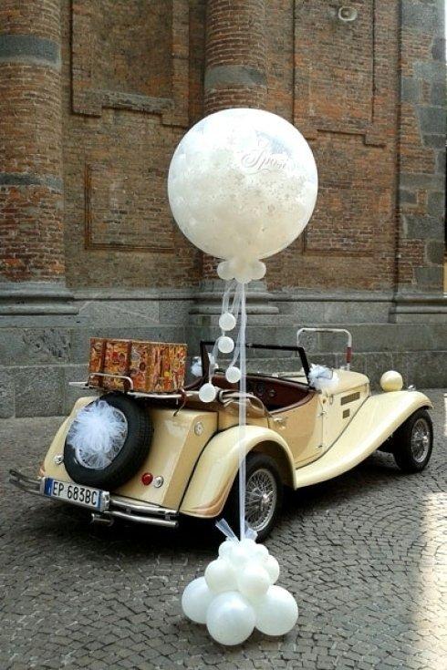 Palloncini per sposalizi