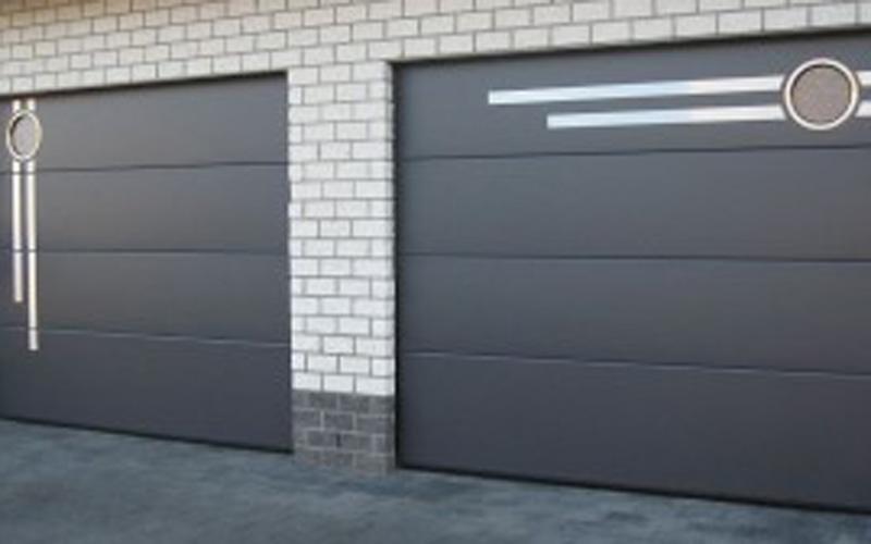 Porte sezionali design personalizzato
