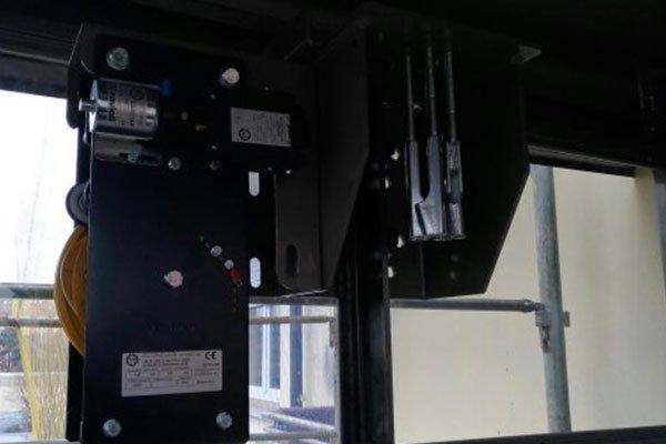 Parte dell'ingranaggio dell'ascensore