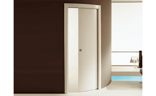 porta lyra scorrevole con curva