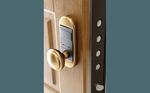 particolare serratura elettronica