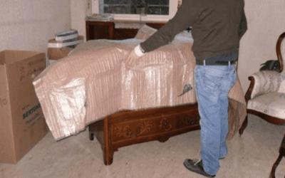 impacchettamento mobili antichi