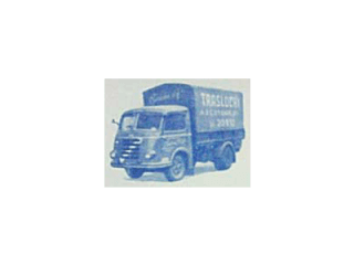 camioncino antico ditta traslochi