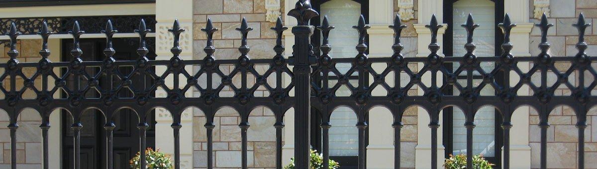 classic fencing sturt design fence