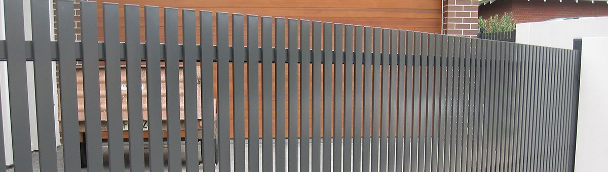 classic fencing picket sliding gate