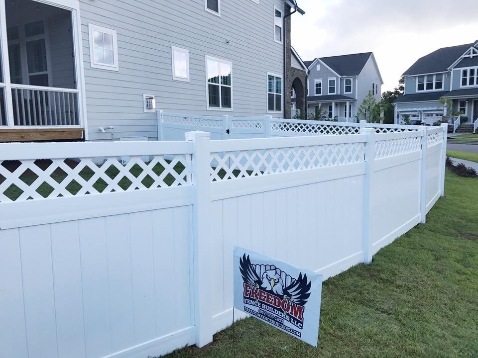 Vinyl Fence Installation Company Raleigh Nc Freedom