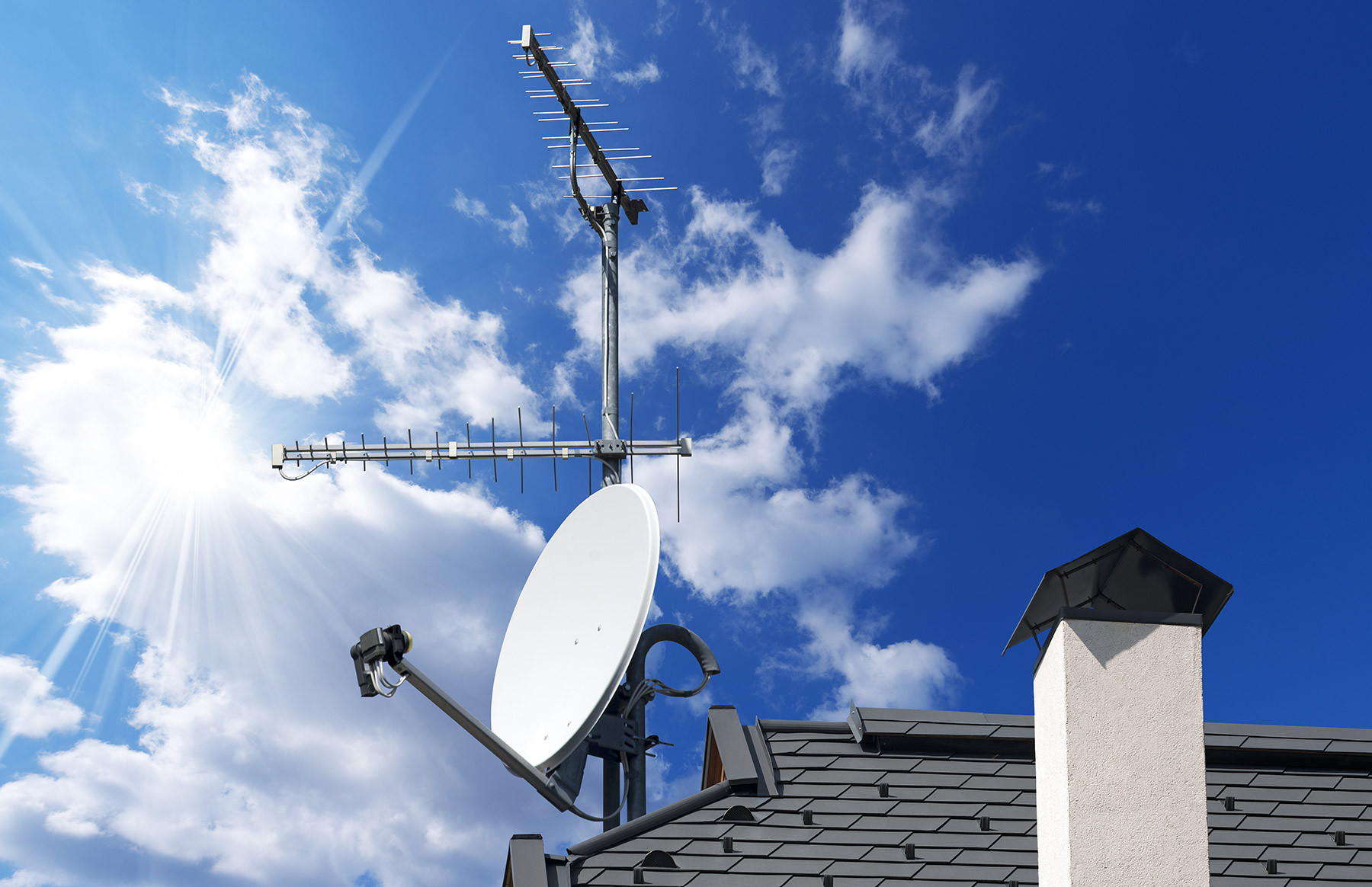 Television Antenna Repair