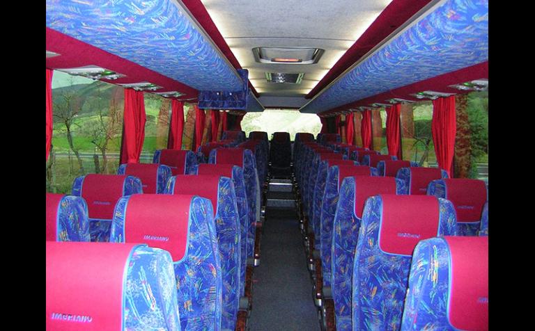 sedili bus tintoretto