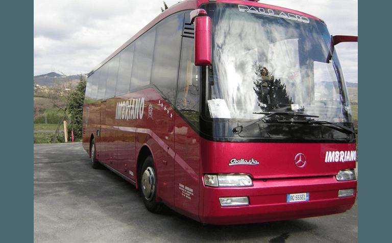 servizio noleggio bus palladio