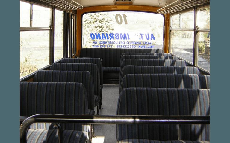 sedili scuolabus