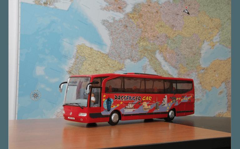 modellino autobus